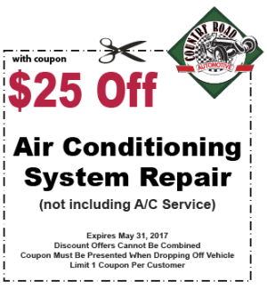 $25 Off Air Conditioning System Repair