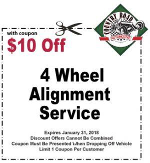 4 Wheel Alignment Service